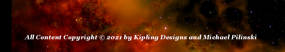 Copyright 2021 by Kipling Designs and Michael Pilinski