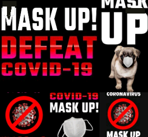 mask up posters
